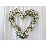 Оформление свадебного зала живыми цветами