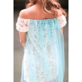 """Платье """"Голубая лагуна"""""""